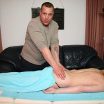 Een hete massage